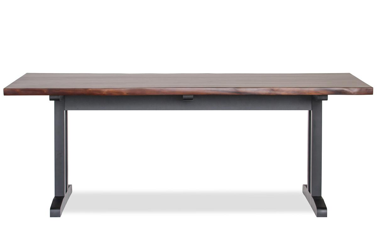 E-comfort 無垢 テーブル 200cm<br>ウォールナット