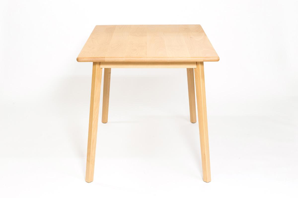 E-comfort 無垢 ダイニングテーブル 140cm ビーチ | 横