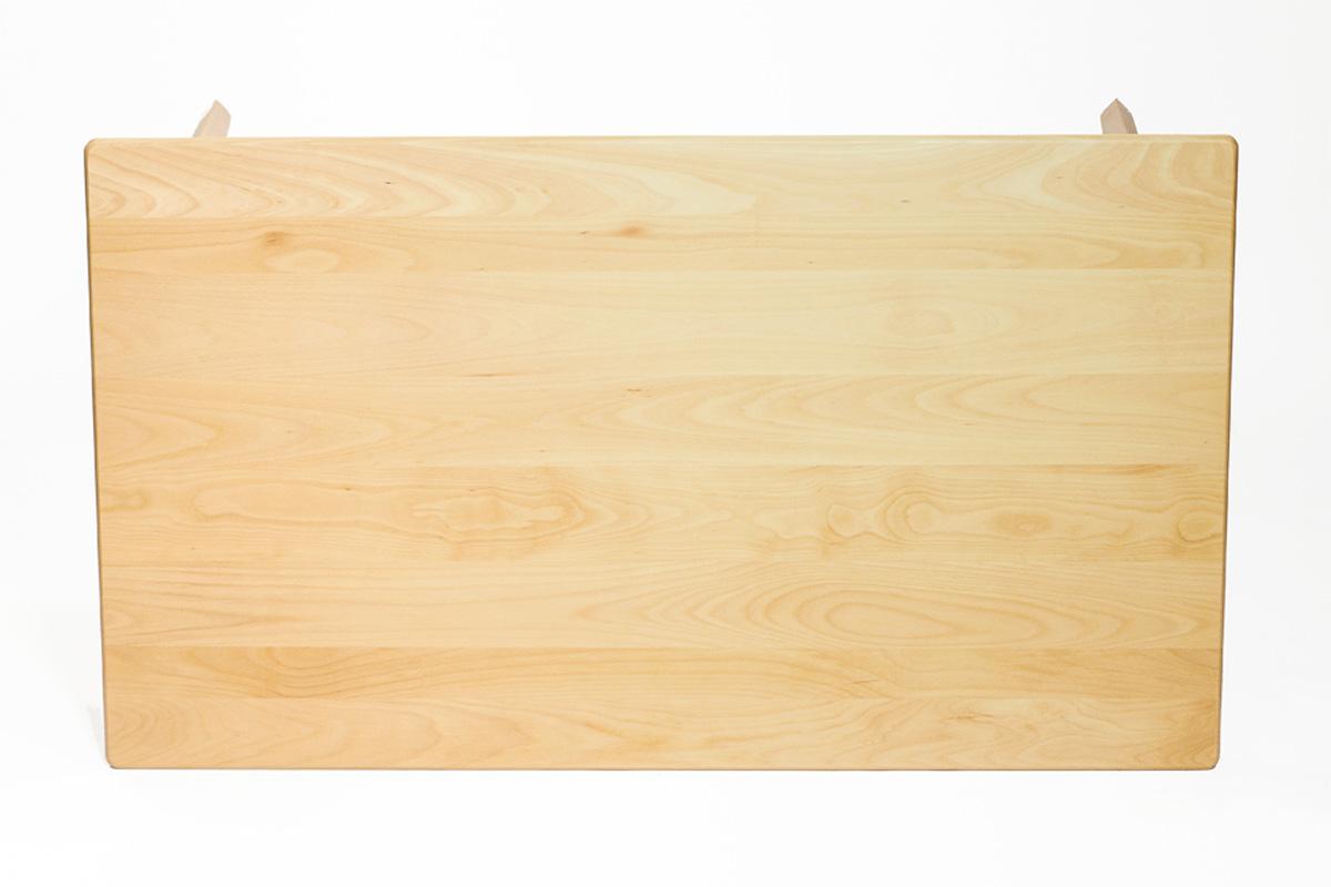 E-comfort 無垢 ダイニングテーブル 140cm ビーチ | 上