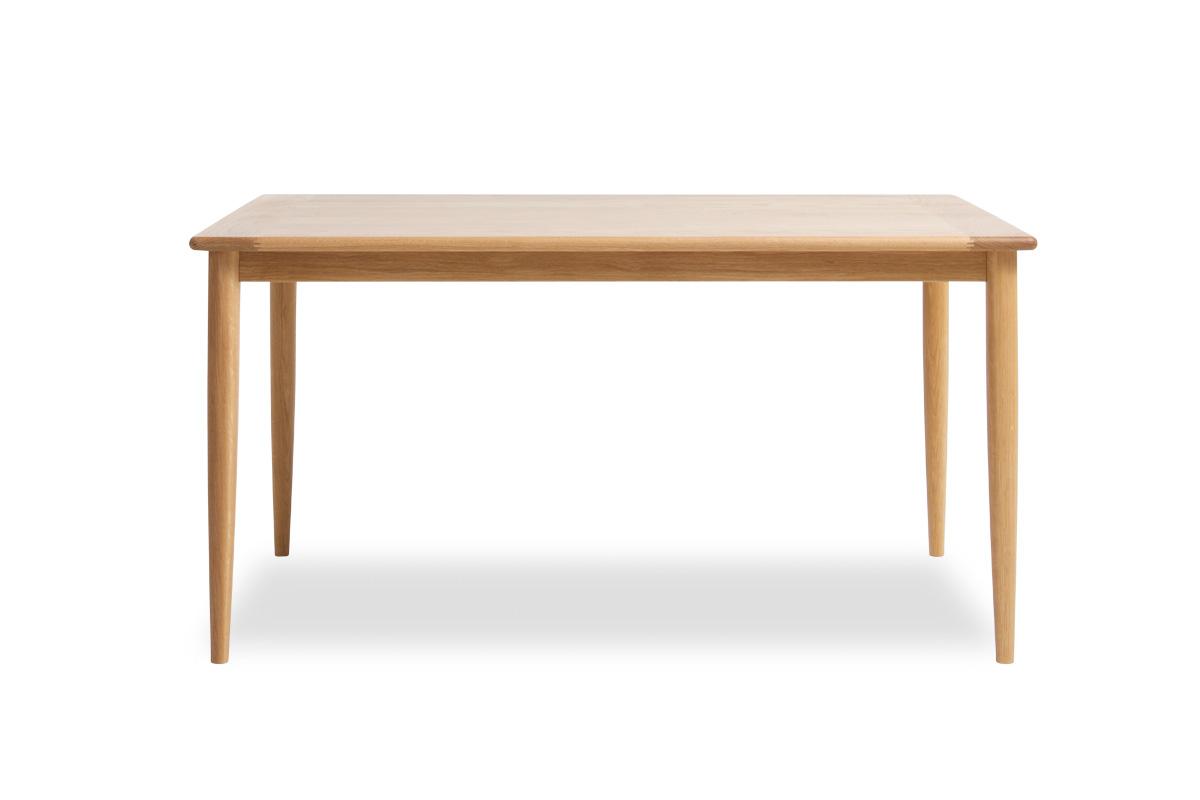E-comfort ノルドテーブル 140cm オーク | 正面