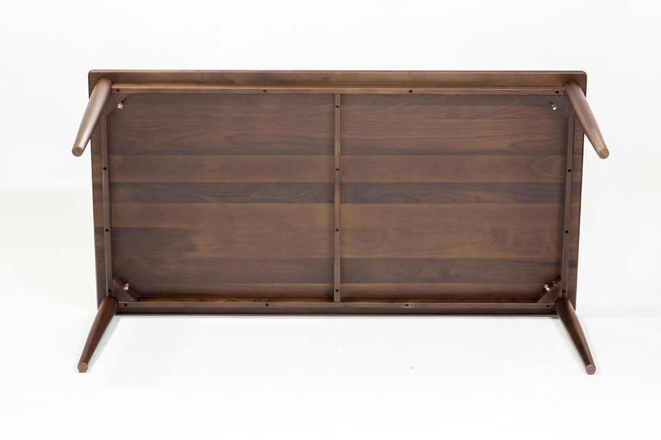 E-comfort ノルドテーブル 160cm ウォールナット | 底