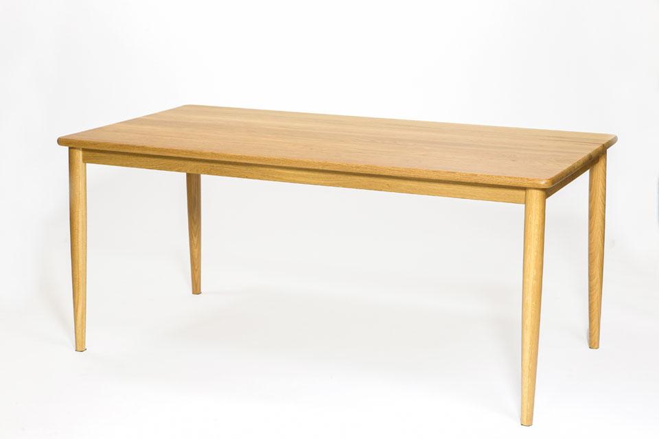 E-comfort ノルドテーブル 160cm オーク | 斜め前