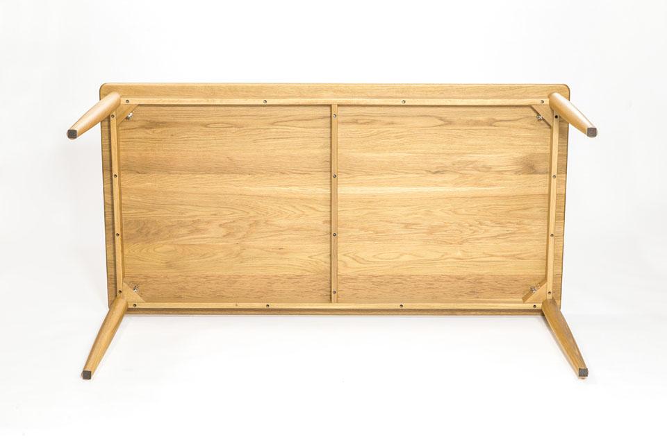 E-comfort ノルドテーブル 160cm オーク | 底