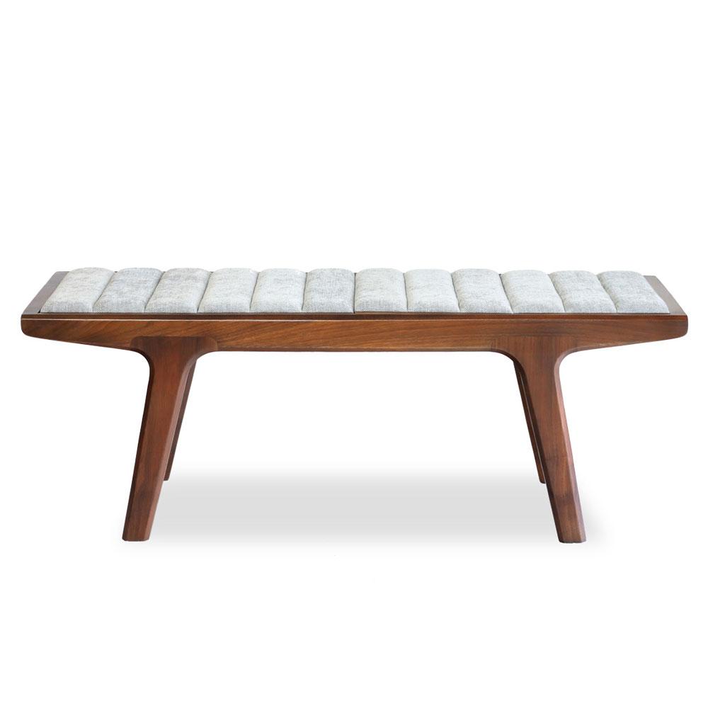 E-comfort リバーソ ベンチテーブル 120<br>ウォールナット ナチュラル