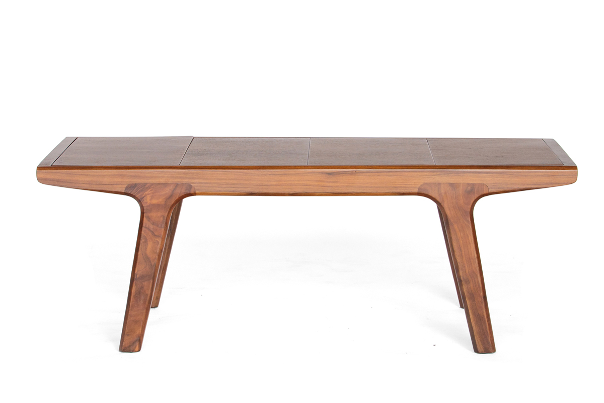 E-comfort リバーソ ベンチテーブル 120 ウォールナット ナチュラル |