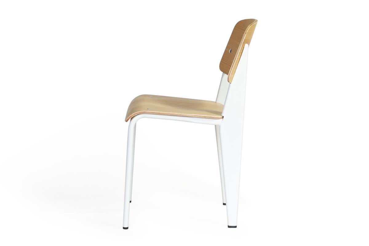 E-comfort スタンダードチェア オーク ホワイトフレーム |