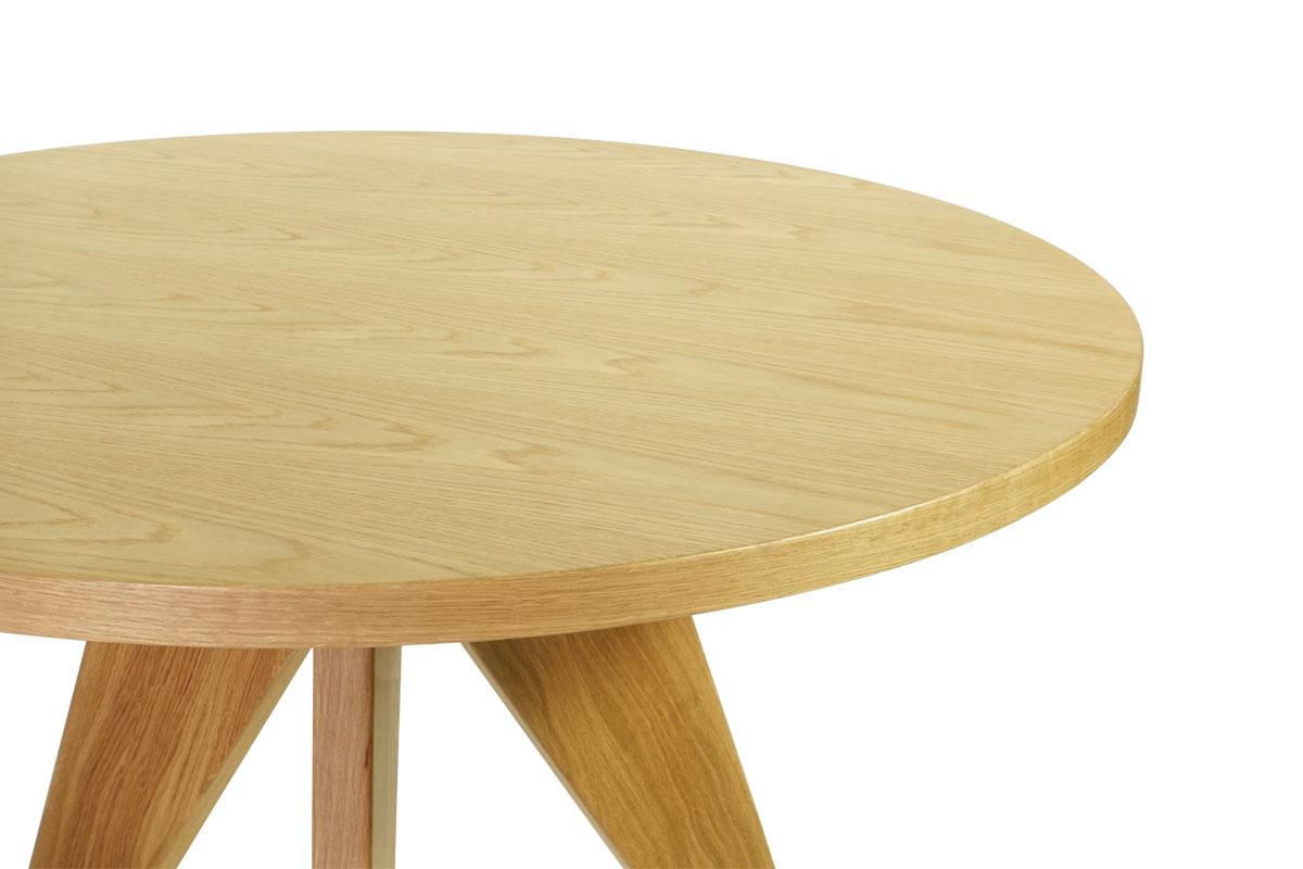 E-comfort ゲリドン テーブル Φ95 オーク |