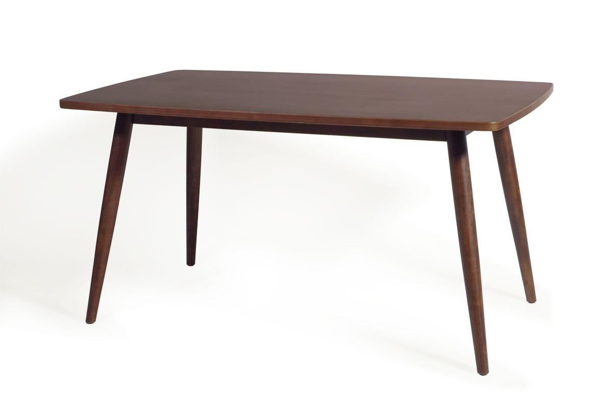 E-comfort ディッシュ ダイニングテーブル ウォールナット  