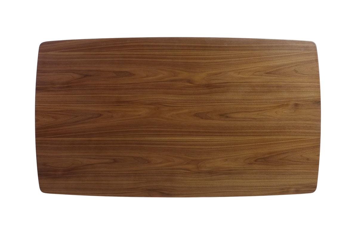 E-comfort ディッシュ ダイニングテーブル ライトウォールナット |